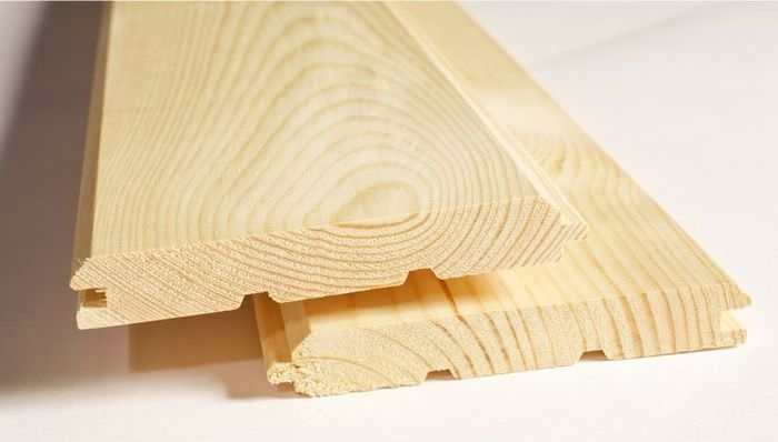 Фальшбрус из доски хвойных пород дерева