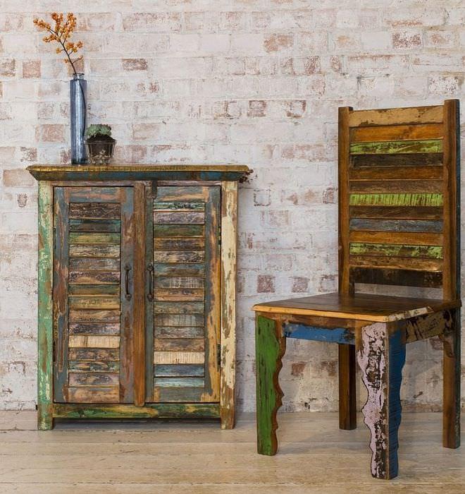 Старая мебель как украшение современного интерьера