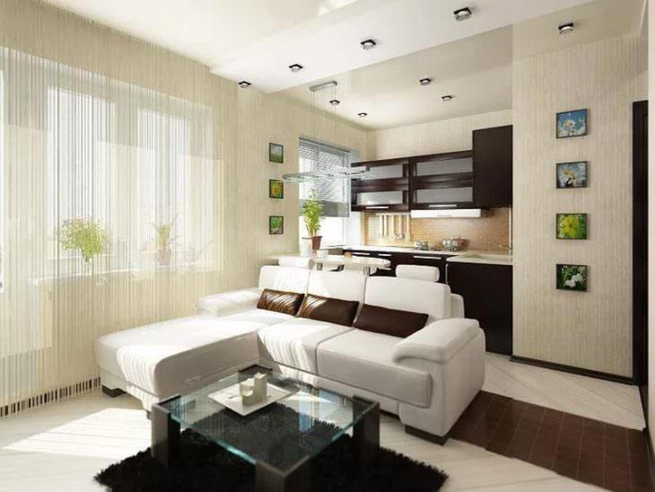 Интерьер небольшой квартиры панельного дома