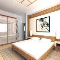 Белас спальня в японском стиле