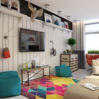 Дизайн современной детской в квартире панельного дома