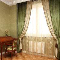 Ретро мебель в интерьере гостиной