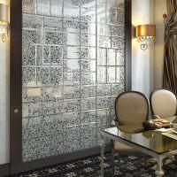 Керамическая плитка с зеркальной поверхностью