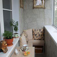 Откидной столик для балкона своими руками