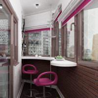 Барные стулья малинового цвета