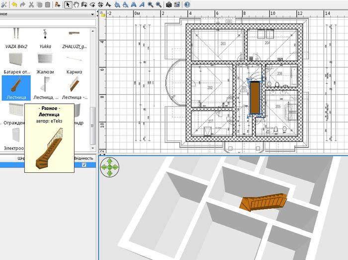 Создание дизайн-проекта дома в программе Sweet Home 3D