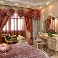Женская спальня в античном стиле