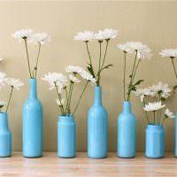 Цветочные вазы из ненужных бутылок