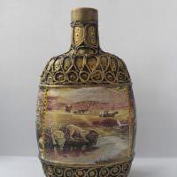 Фото декоративной бутылки для подарка любимому человеку