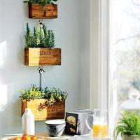 Самодельные ящички для комнатных растений