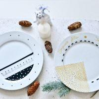 Декор фарфоровых тарелок своими руками