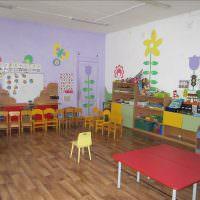 Интерьер рядового детского сада