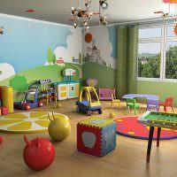 Декорирование потолка в детском саду