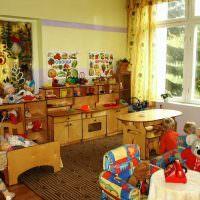 Игровая зона в частном детском саду