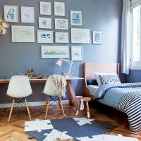 Декор картина комнаты для мальчика