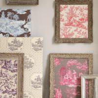 Картины из ненужных обрезков ткани
