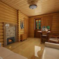 Дизайн комнаты для отдыха после водных процедур