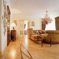 красивая комната в стилистике модерна