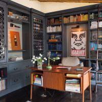 Оформление кабинета в испанском стиле