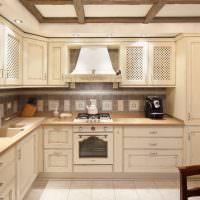 Кухонный гарнитур Г-образной конфигурации