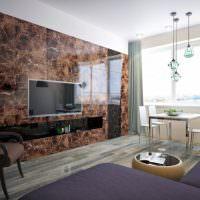 Встроенная мебель с акриловыми фасадами