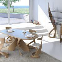 Дизайн обеденной зоны в современном стиле
