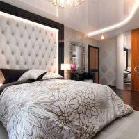 Спальня в городской квартире стиля модерн