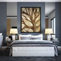 Дизайн современной спальни-гостиной