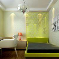 Дизайн маленькой спальни для подростка