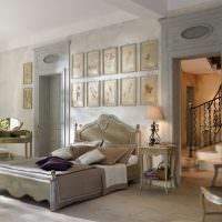 Дизайн спальни с двумя дверями