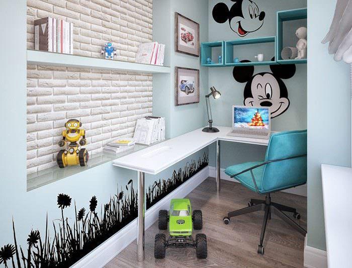 Оформление детской комнаты на лоджии