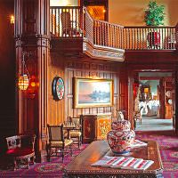 Гостиная в стиле средних веков