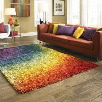 Все цвета радуги на одном ковре