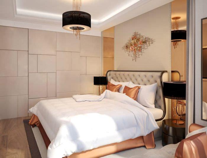 Оформление современной спальни в стиле модерн