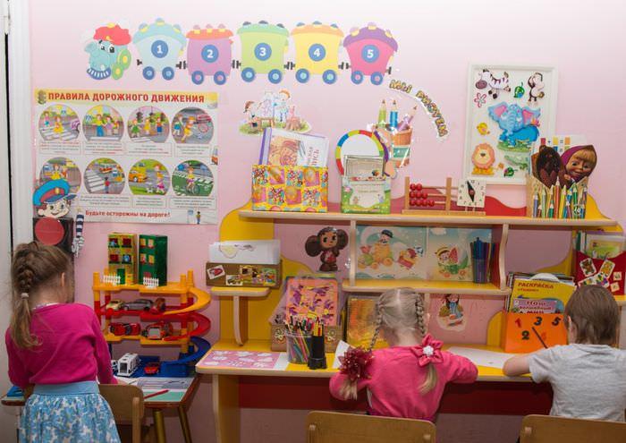 Место для развития творческих способностей в детском саду
