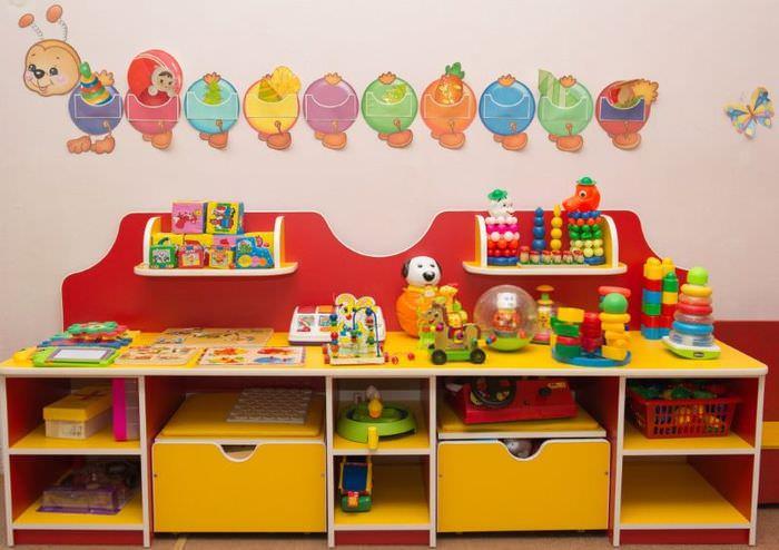 Оформление игровой зоны в детском саду