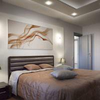Украшение стены над изголовьем кровати