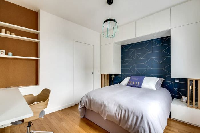 Дизайн спальни площадью 14 кв метров для подростка