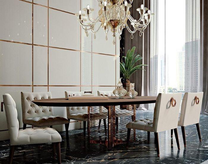 Оформление столовой в итальянском стиле