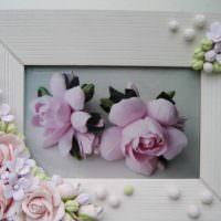 Самодельные цветы из полимерной глины