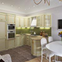 Кухонный гарнитур классического стиля