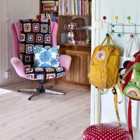 Детская комната в стиле китч