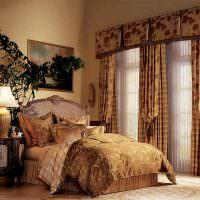Коричневый цвет в дизайне спальной комнаты