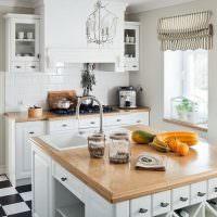 Кухонный остров с встроенной мойкой