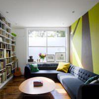 Книжные стеллажи в комнате мальчика подростка