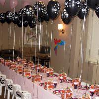 Оформление праздничного стола в духе пиратской вечеринки
