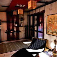 Дизайн комнаты в восточном стиле