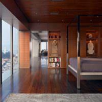 Дизайн спальни в стиле китайского минимализма