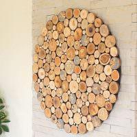 Круглое панно из дерева своими руками