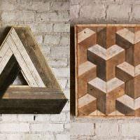 Декорирование интерьера деревянными поделками